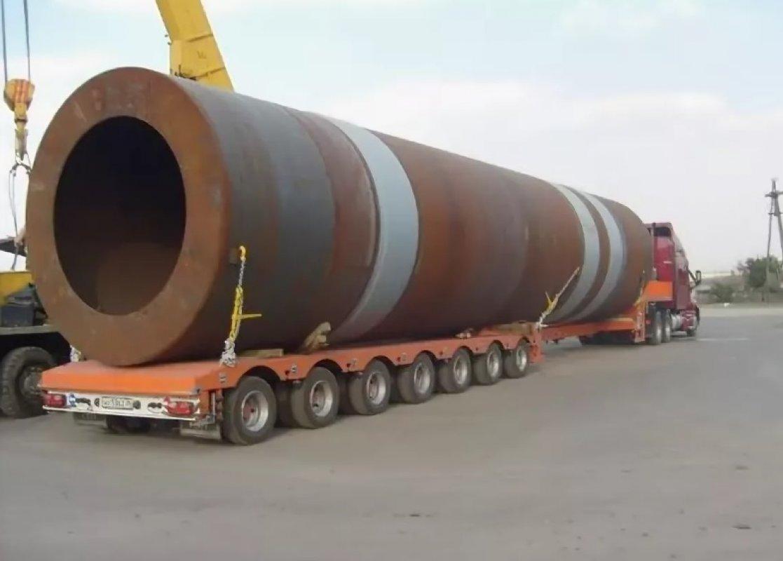 Перевозка труб больших диаметров тралами и площадками - Тамбов, цены, предложения специалистов